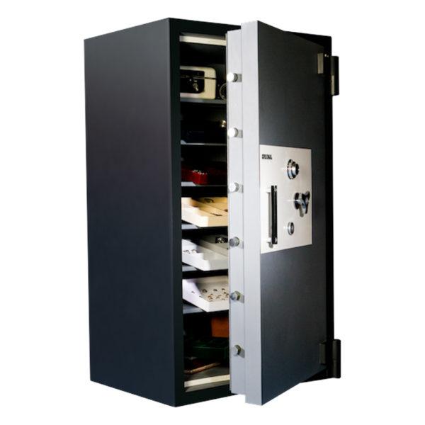 Original Safe & Vault Inc. Platinum High-Security Safe 6434x6 Open