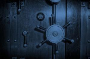 Large Bank Vault Door