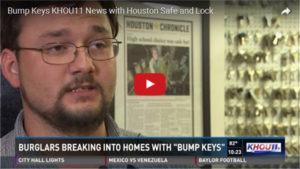 houston safe and lock video on bump keys