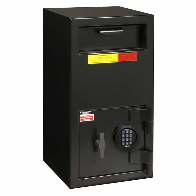 AMSEC DSF2714E5 depository safe closed