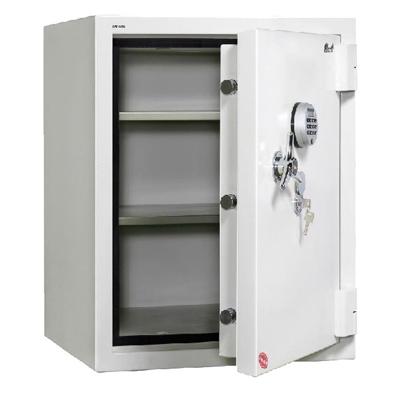Jewel Security Two Hour Fire and Anti-Burglary Safe JFB845W Open