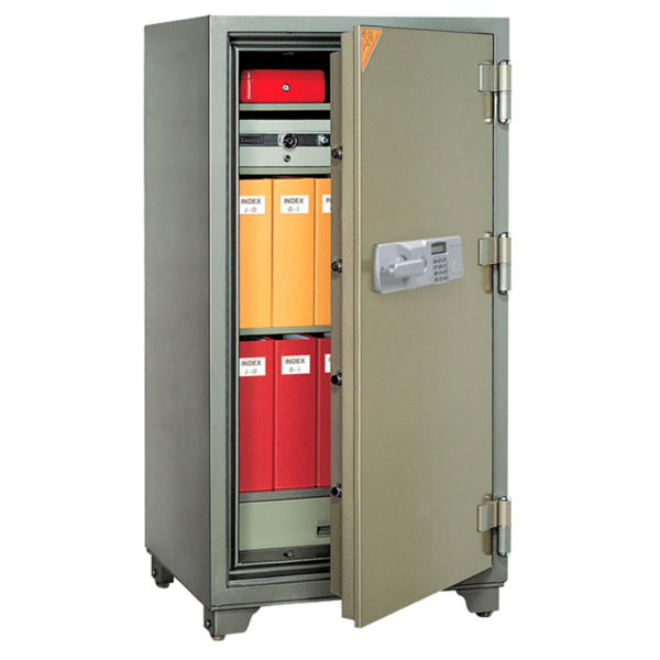 Jewel Security Two Hour Fire Safe JST1400 Open