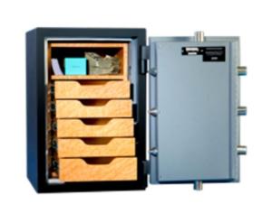 Original Safe & Vault Inc. Resistor Safe Series 2414R Open